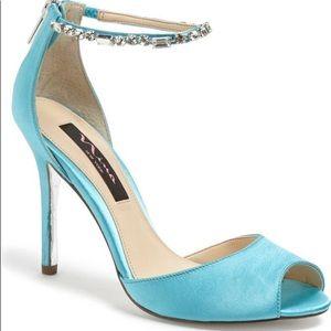 Nina Shoes - Tiffany blue heels